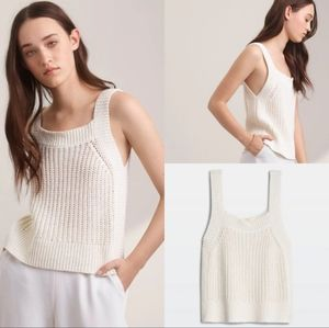 Aritzia Wilfred caumont knit tank top
